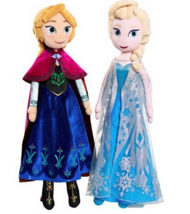 *HOT* Anna and Elsa 2′ Plushes just $10 Each!!!!