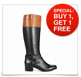 Macy's: Cyber Monday Sale on Women's Shoes and Boots!!! Buy One, Get One FREE