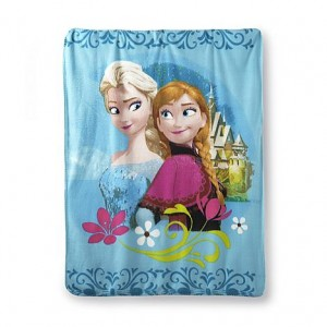 Disney's Frozen Anna & Elsa Blanket as low as $1.29!