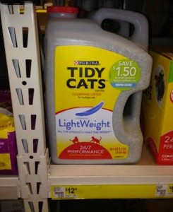 NEW  Tidy Cats Lightweight Litter available at Dollar General!! Plus Giveaway for FIVE free bottles!