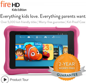 Amazon: *HOT* $30 off the Kindle Fire HD Kids Edition