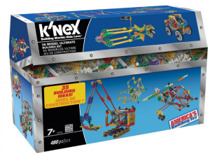 K'NEX® 35 Model Ultimate Building Set just $11.99 + FREE In Store Pick up   Reg. $25!