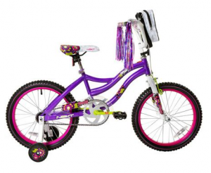 18″ Next Girls' and Boys' Bikes just $49!! Reg. $90