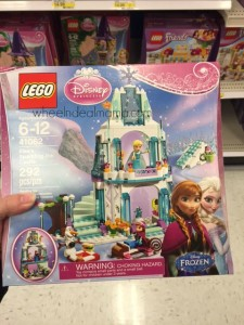 *HOT* Disney Frozen Elsa's Sparkling Ice Castle LEGO Set AVAILABLE NOW in Store!!!