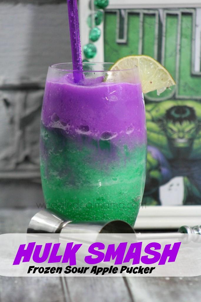 How To Make Purple Hulk Drink