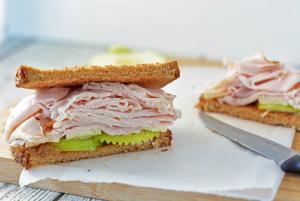 Smoked Turkey Sandwich with a Twist; Best Turkey Sandwich EVER!