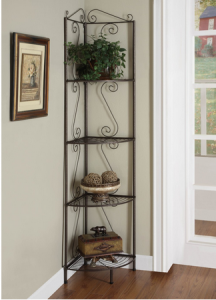 4 Tier Corner Shelf Goldish Copper just $61.99!! Reg. $155! Great Reviews!