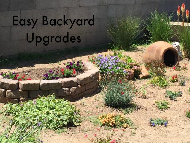 Easy Backyard Upgrades