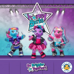 Introducing the Build-a-Bear Honey Girls! Enter to win a $100 Build-a-Bear Gift Card!
