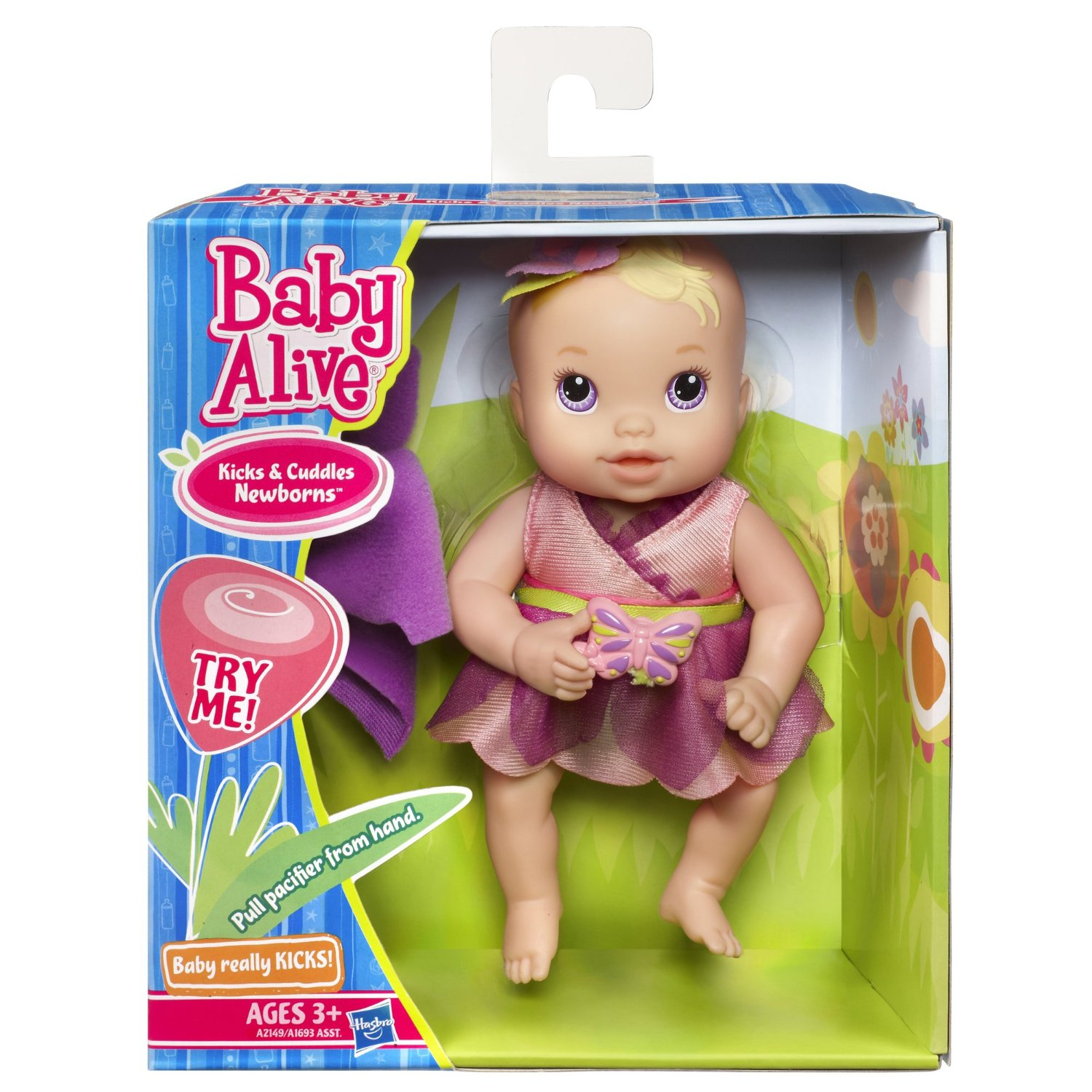 Baby Alive Kicks Amp Cuddles Newborn Only 7 70 Reg 12