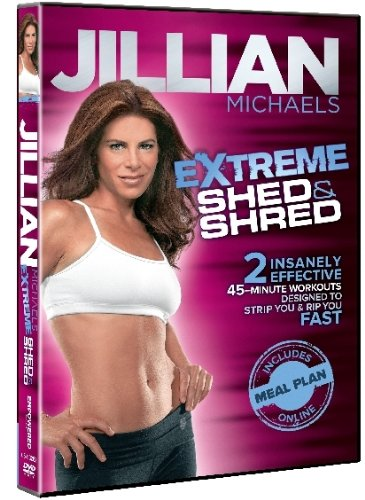 Jillian Michaels Shed Amp Shred Dvd Only 7 99 Reg 14 98