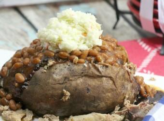 BBQ Pulled Pork Baked Potato