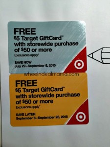 NEW Target Back to School Coupon Book! Check your Mailbox!
