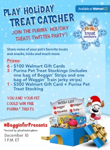 #BegginforPresents Twitter Party 12/10 at 1pm EST!! $1200 in Prizes!!