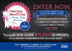 HUGE Giveaway with Similac StrongMoms!! Instant Winners + Incredible Grand Prize! Over $15,000 in Prizes!