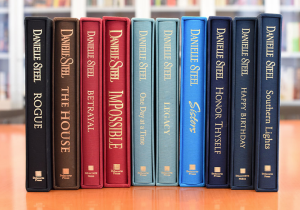 Enter to win a Limited Edition SIGNED Danielle Steel Library! ($2000 value)