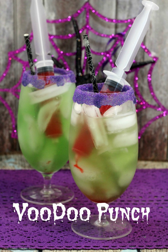 Voodoo Punch Perfect Halloween Party Drink Wheel N