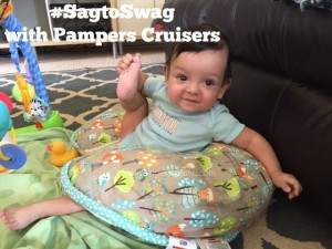 Get Your Baby Moving with Pampers Cruisers! #SagtoSwag