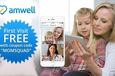 Amwell: Your Online Doctor! Get One FREE Visit! #MOMSLOVEAMWELL