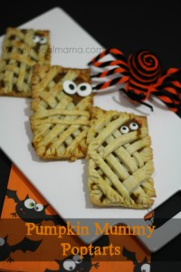 Homemade Mummy Poptarts, with Pumpkin filling!