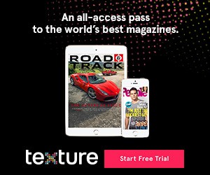 Unlimited Magazines with the new Texture App