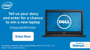 Enter to Win a Free Dell Inspiron Laptop #UpgradeWithIntel
