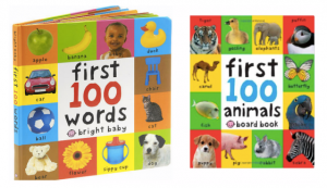 Baby First 100 Words Board Book just $3.30!!