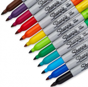 12 Pack of Multi-Colored Sharpies just $6!! Reg. $16