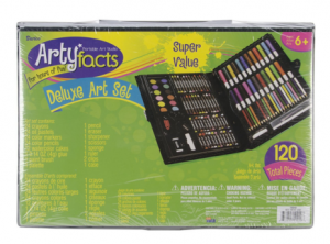 Darice 120-Piece Deluxe Art Set just $7.09!!