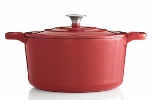 Food Network™ 5.5-qt. Enameled Cast-Iron Dutch Oven just $33.99!!! Reg. $100