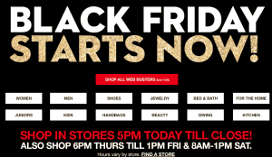 Macy's Black Friday is LIVE online NOW!!!