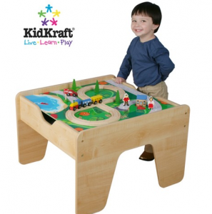 Target: KidKraft 2-in-1 LEGO Compatible Train Activity Table just $64.80!!! Reg. $150