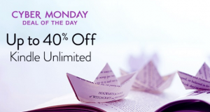 40% off Kindle Unlimited!!! TODAY ONLY!