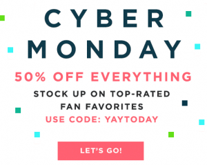 Julep: Cyber Monday!! 50% off EVERYTHING!