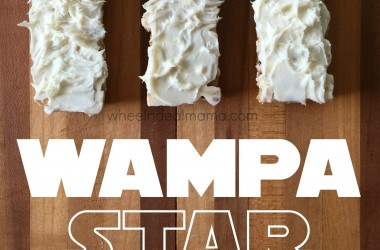 Wampa Granola Bars, a Perfect Star Wars Snack!