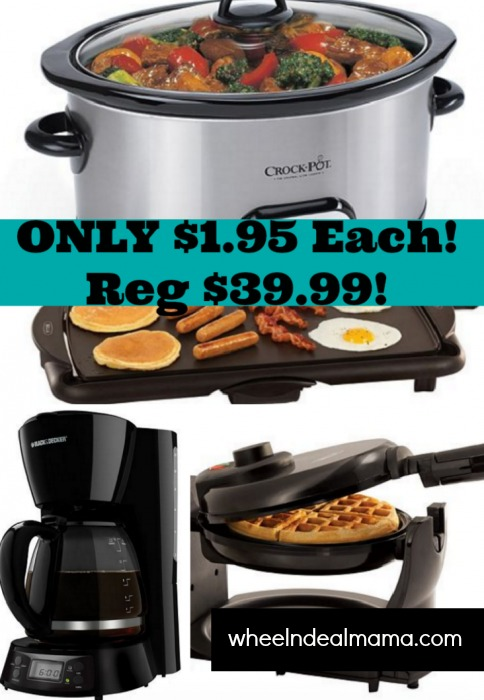 Chefman Coffee Maker Kohls : SUPER HOT Kohl s Deals! CHEAP Small Appliances! Waffle Maker, Coffee Maker, Griddle And MORE ...