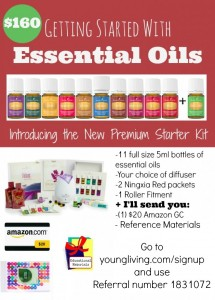 It's BACK!!! ONE Week only!! Special on Young Living Essential Oils Starter Kit!