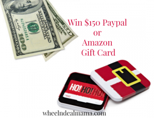 Win $150 Paypal CASH or a $150 Amazon Gift Card (Your Choice!)