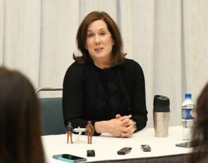 Interview with the President of Lucasfilms, Kathleen Kennedy, About Star Wars: The Force Awakens