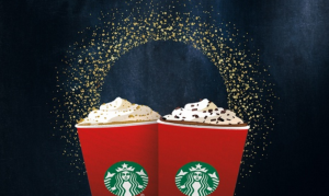 Just $10 for a $15 Starbucks Gift Card!!!