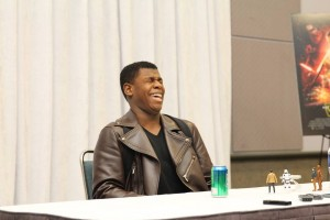 John Boyega is Candid about his Role as Finn in Star Wars: The Force Awakens