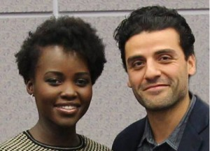 Oscar Isaac and Lupita Nyong'o Talk about Their Roles in Star Wars: The Force Awakens
