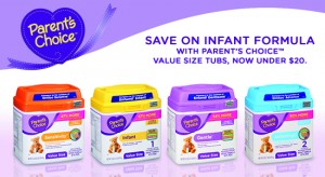 Parent's Choice Formula, Exclusively at Walmart: High Quality and Affordable! #ParentsChoice