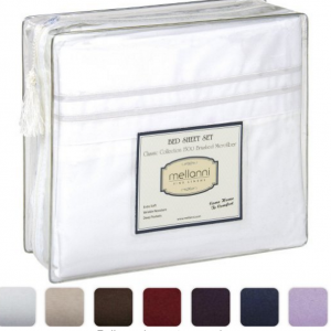 Mellanni Bed Sheets, Brushed Microfiber as low as $12.73!!! Reg. $50!