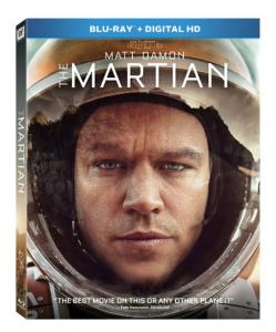The Martian on BluRay for just $15!