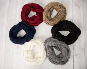 Cents of Style: One Day Sale!! Cable Knit Infinity Scarves just $7.95 + FREE Shipping! Reg. $26!