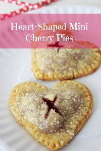 Heart-Shaped Mini Cherry Pies