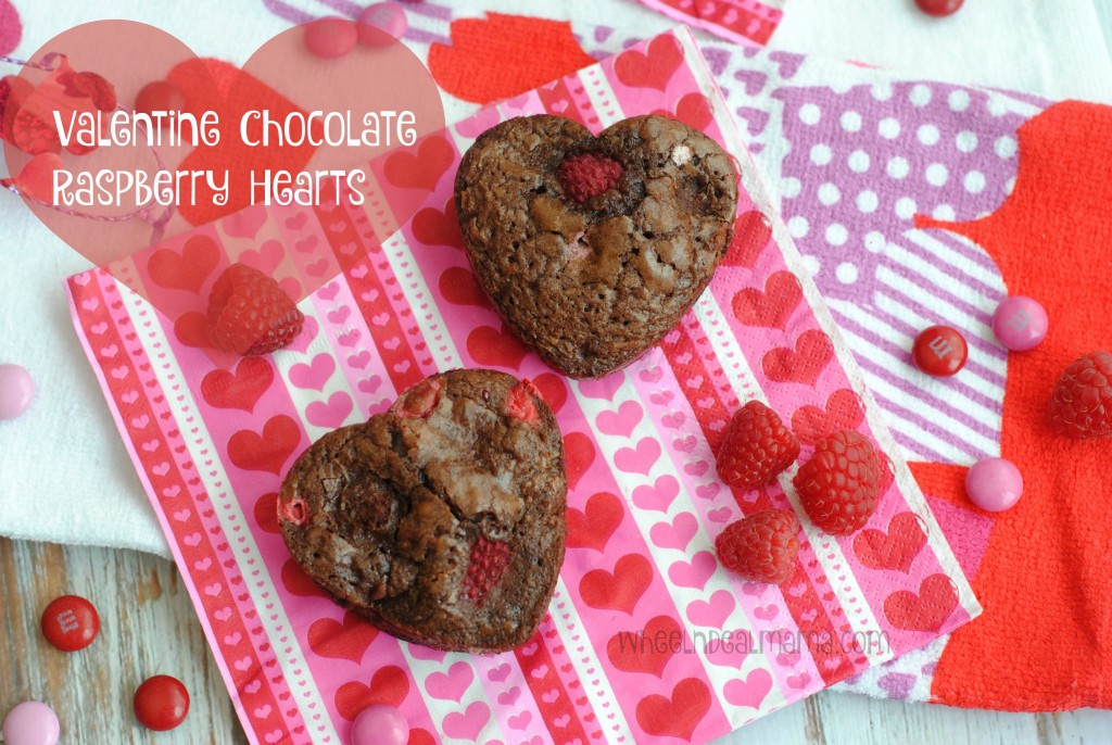 Valentine Chocolate Rasberry Hearts