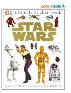 Star Wars and Frozen Ultimate Sticker Books just $3.86 + $3.63!