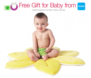Free MAM Gift Bundle with a NEW Baby Registry (1st 6,000 Only) for Amazon Prime Members